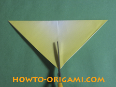 how to origami butterfly instruction 6 - easy origami for kid