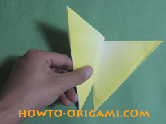 how to origami butterfly instruction 9 - easy origami for kid