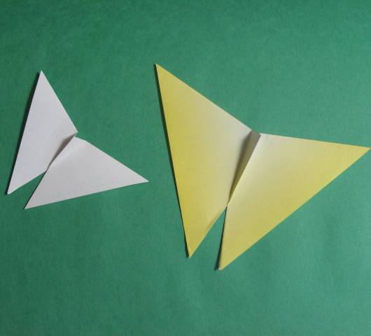 how to origami butterfly - easy origami for kid
