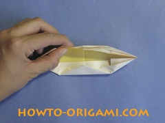 how to origami canue instruction 13