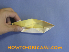 how to origami canue instruction 14