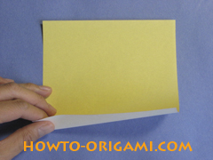 how to origami canue instruction 1