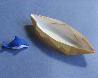 how to origami canue