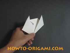 how to origami cat instruction 10 - easy origami for kids
