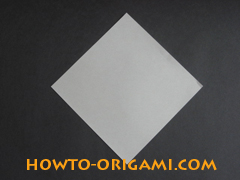how to origami cat instruction 1 - easy origami for kids