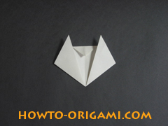 how to origami cat instruction 9 - easy origami for kids