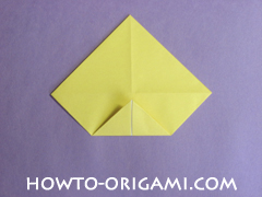 chair origami, how to origami a chair instruction10 - easy origami for child