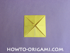 chair origami, how to origami a chair instruction11 - easy origami for child