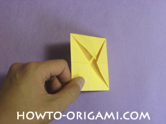 chair origami, how to origami a chair instruction12 - easy origami for child