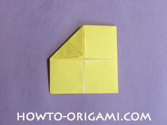 chair origami, how to origami a chair instruction14 - easy origami for child