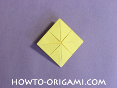 chair origami, how to origami a chair instruction17 - easy origami for child