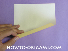 chair origami, how to origami a chair instruction1 - easy origami for child