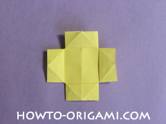 chair origami, how to origami a chair instruction21 - easy origami for child