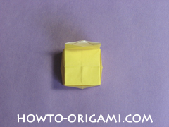 chair origami, how to origami a chair instruction24 - easy origami for child