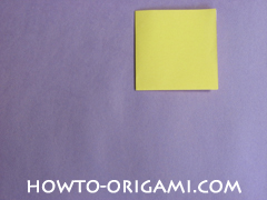 chair origami, how to origami a chair instruction3 - easy origami for child
