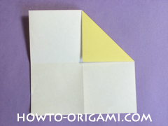 chair origami, how to origami a chair instruction6 - easy origami for child