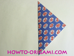 Chopstick wrapper origami - How to make chopsticks wrapper origami instruction no.3