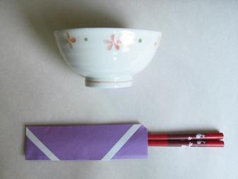 Chopsticks origami - How to make Chopsticks cover origami instruction