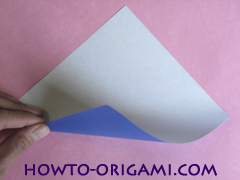 how to origami a drinking cup glass instruction1 - easy origami for kid