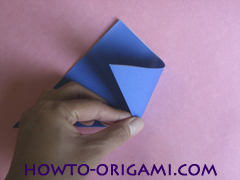 how to origami a drinking cup glass instruction3 - easy origami for kid
