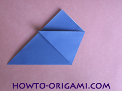 how to origami a drinking cup glass instruction4 - easy origami for kid