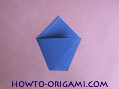 how to origami a drinking cup glass instruction5 - easy origami for kid