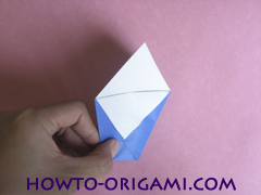 how to origami a drinking cup glass instruction8 - easy origami for kid