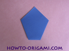 how to origami a drinking cup glass instruction9 - easy origami for kid