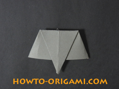 how to origami elephant instruction 9 - easy origami for kids