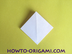 Flower origami instruction 10 - how to origami a morning glory flower - easy origami instruction for kids