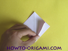 Flower origami instruction 11 - how to origami a morning glory flower - easy origami instruction for kids