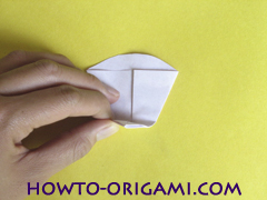 Flower origami instruction 20 - how to origami a morning glory flower - easy origami instruction for kids
