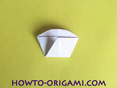 Flower origami instruction 21 - how to origami a morning glory flower - easy origami instruction for kids