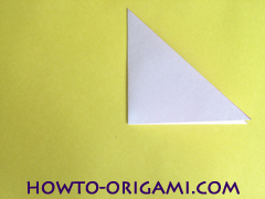 Flower origami instruction 4 - how to origami a morning glory flower - easy origami instruction for kids