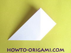 Flower origami instruction 8 - how to origami a morning glory flower - easy origami instruction for kids