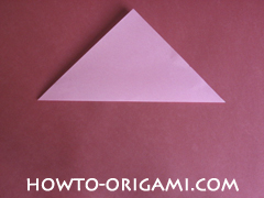 Flower tulip origami - how to origami flower tulip instruction 2