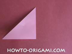 Flower tulip origami - how to origami flower tulip instruction 3
