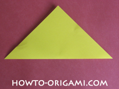 Easy tulip flower origami instruction 2 - how to origami flower tulip