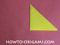 Easy tulip flower origami instruction 4 - how to origami flower tulip