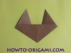 how to origami fox instruction 11 - easy origami for kid