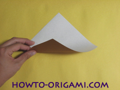 how to origami fox instruction 2 - easy origami for kid