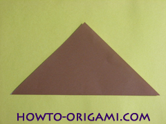how to origami fox instruction 3 - easy origami for kid