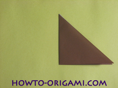 how to origami fox instruction 5 - easy origami for kid