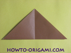how to origami fox instruction 6 - easy origami for kid