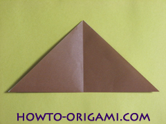 how to origami fox instruction 7- easy origami for kid