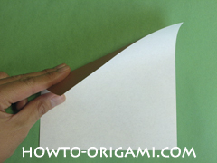 Horse barn origami - How to make barn origami instruction 1 - Kid's origami