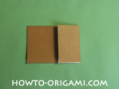 Horse barn origami - How to make barn origami instruction 4 - Kid's origami