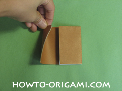Horse barn origami - How to make barn origami instruction 5 - Kid's origami