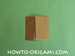 Horse barn origami - How to make barn origami instruction 6 - Kid's origami