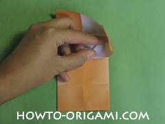 House origami - how to origami house instruction14